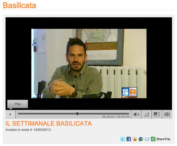INCONTRI RACCOLTI @TGR Basilicata